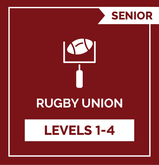 Rugby Union SR - Levels 1 - 4