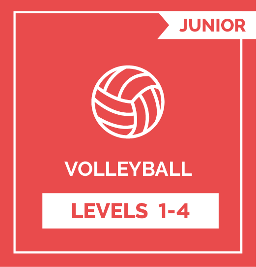Volleyball JRS Levels 1 - 4